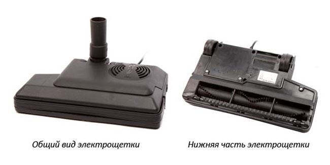 Щетка-электровыбивалка для пылесоса